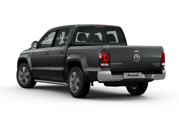 Volkswagen Amarok Pick Up DCab 4Motion 3.0 TDI V6 4WD 258PS Black Edition Pickup Double Cab Auto [Start Stop] back view