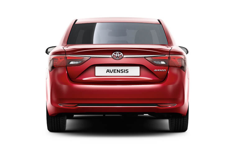 Toyota Avensis Saloon 1.6 D-4D 112PS Business Edition 4Dr Manual [Start Stop] back view