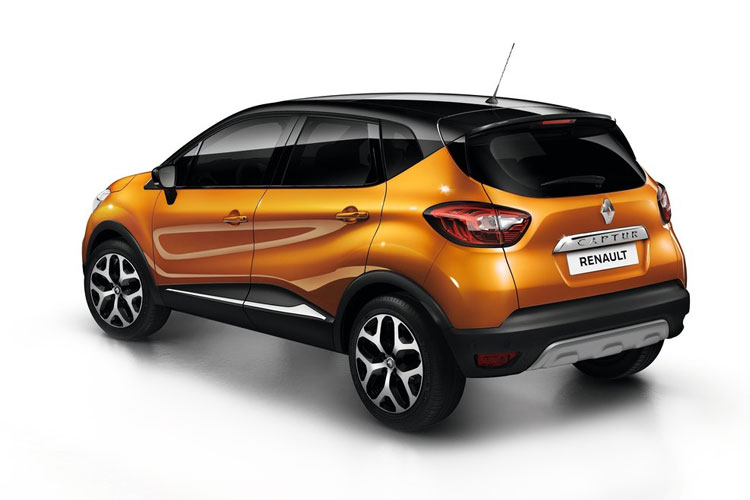 Renault Captur SUV 1.0 TCe 90PS Play 5Dr Manual [Start Stop] back view