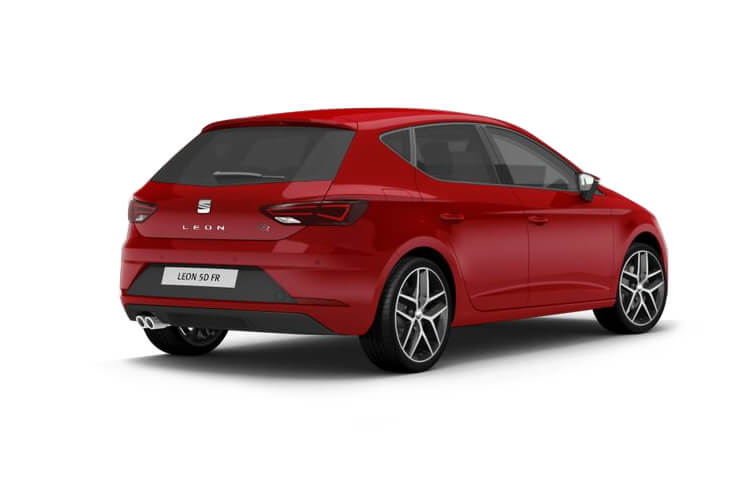 SEAT Leon Hatch 5Dr 1.0 TSI 115PS SE 5Dr Manual [Start Stop] back view