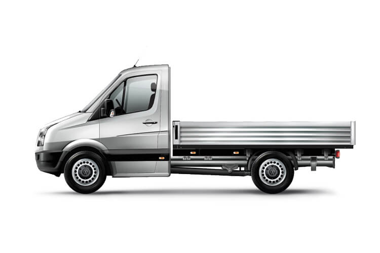 Volkswagen Crafter CR35LWB RWD 2.0 TDI RWD 140PS Startline Tipper Double Cab Manual [Start Stop] [ETG] back view