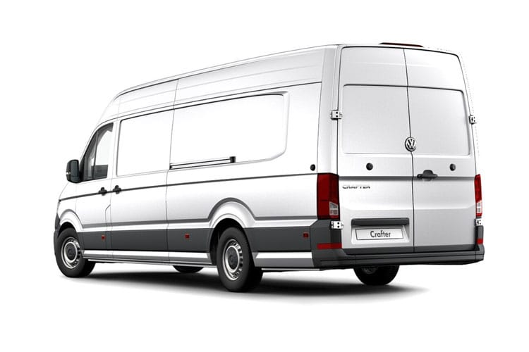 Volkswagen Crafter CR35 Maxi LWB FWD 2.0 TDI FWD 140PS Trendline Van Extra High Roof Manual [Start Stop] back view