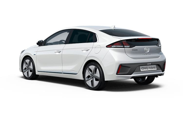 Hyundai IONIQ Hatch 5Dr 1.6 h-GDi 141PS SE 5Dr DCT [Start Stop] back view