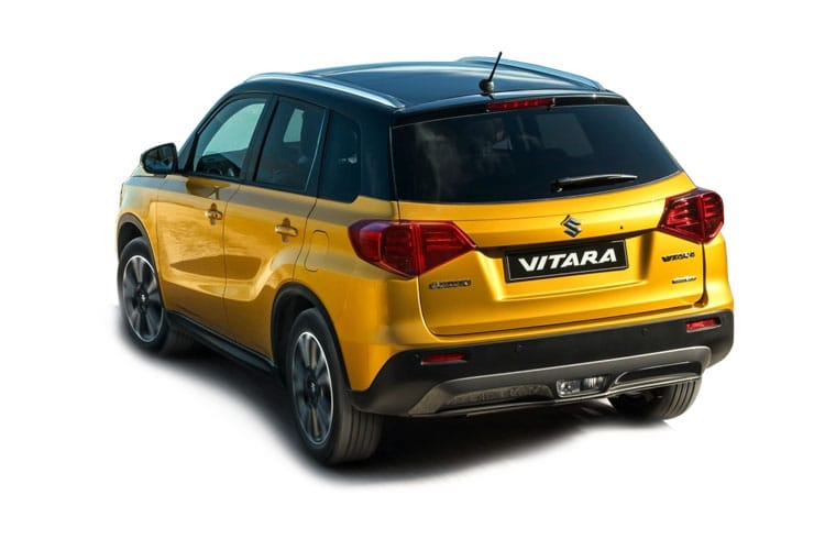 Suzuki Vitara SUV 1.4 Boosterjet MHEV 129PS SZ5 5Dr Manual [Start Stop] back view