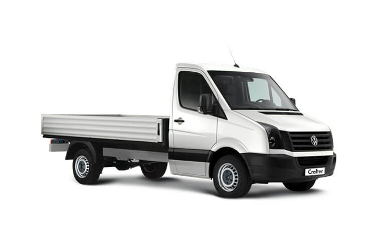 Volkswagen Crafter CR35LWB RWD 2.0 TDI RWD 140PS Startline Tipper Double Cab Manual [Start Stop] [ETG] front view