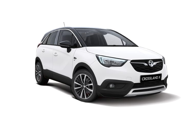 Vauxhall Crossland X SUV 1.2 Turbo ecoTEC 110PS Elite 5Dr Manual [Start Stop] front view