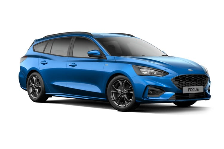 Ford Focus Estate 1.0 T EcoBoost MHEV 155PS Active Edition 5Dr Manual [Start Stop] front view