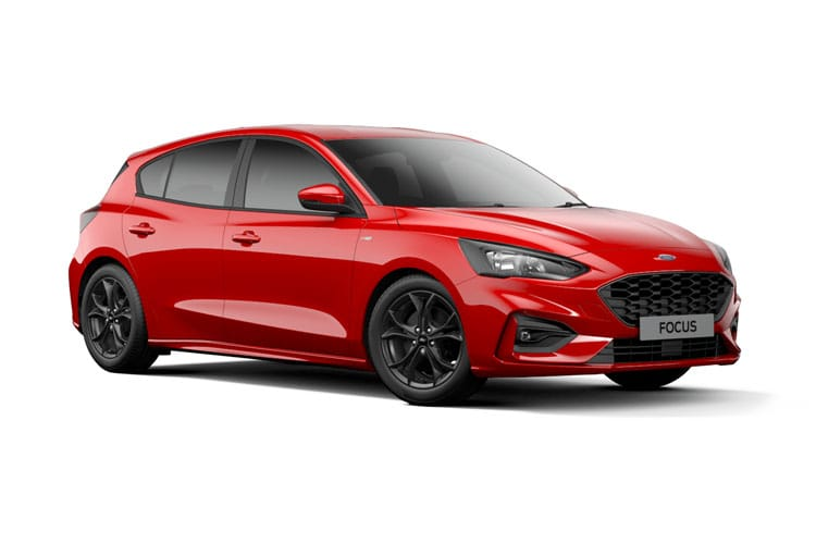 Ford Focus Hatch 5Dr 1.0 T EcoBoost 125PS Titanium 5Dr Manual [Start Stop] front view
