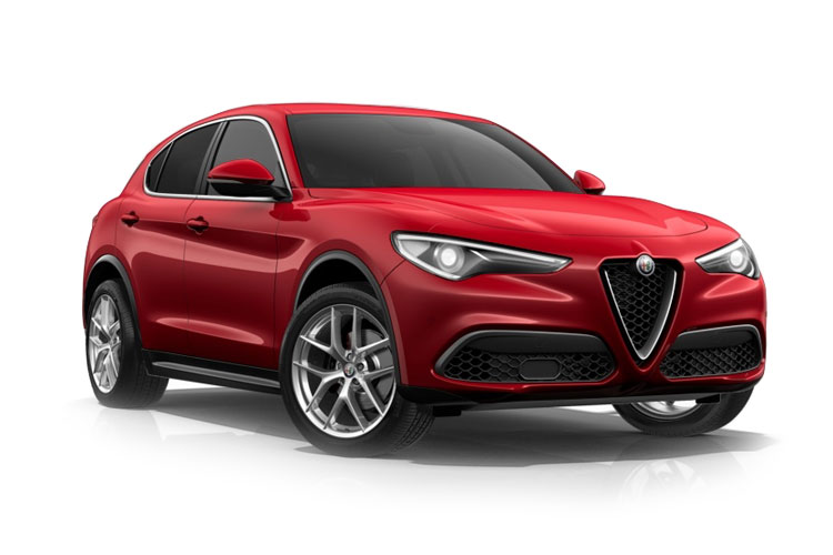 Alfa Romeo Stelvio SUV Q4 AWD 2.2 TD 210PS Speciale 5Dr Auto [Start Stop] front view