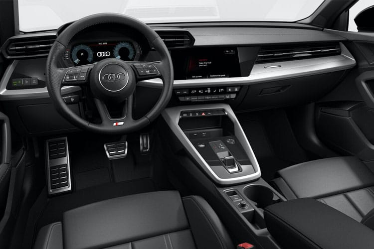 Audi A3 Sportback 5Dr 1.0 TFSI 116PS SE 5Dr Manual [Start Stop] inside view