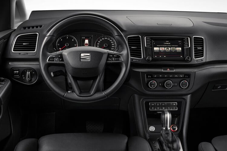 SEAT Alhambra MPV 5Dr 2.0 TDI Ecomotive 150PS SE 5Dr Manual [Start Stop] inside view