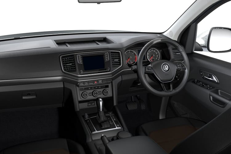 Volkswagen Amarok Pick Up DCab 4Motion 3.0 TDI V6 4WD 258PS Black Edition Pickup Double Cab Auto [Start Stop] inside view