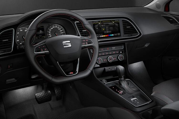 SEAT Leon Hatch 5Dr 1.0 TSI 115PS SE 5Dr Manual [Start Stop] inside view