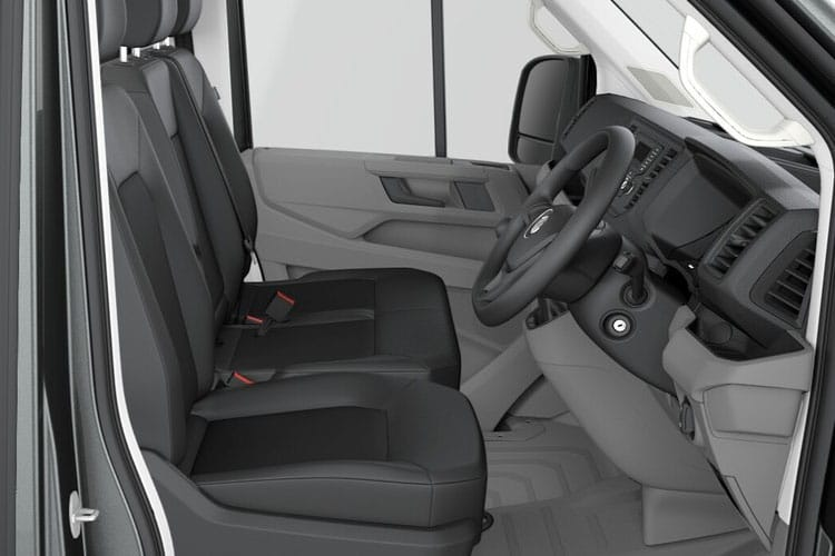 Volkswagen Crafter CR35LWB RWD 2.0 TDI RWD 140PS Startline Chassis Cab Manual [Start Stop] inside view