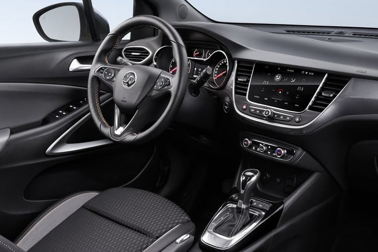 Vauxhall Crossland X SUV 1.2 Turbo ecoTEC 110PS Elite 5Dr Manual [Start Stop] inside view