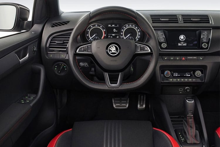 Skoda Fabia Hatch 5Dr 1.0  75PS S 5Dr Manual [Start Stop] inside view
