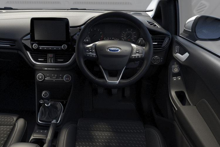 Ford Fiesta Hatch 5Dr 1.0 T EcoBoost 95PS ST-Line X Edition 5Dr Manual [Start Stop] inside view