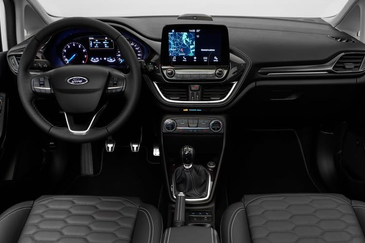 Ford Fiesta Hatch 5Dr 1.0 T EcoBoost 125PS Active Edition 5Dr Manual [Start Stop] inside view