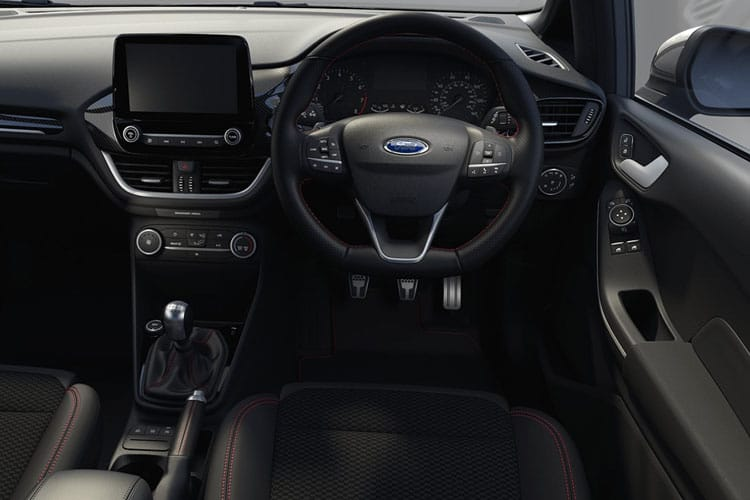 Ford Fiesta Hatch 5Dr 1.1 Ti-VCT 85PS Zetec 5Dr Manual [Start Stop] [SNav] inside view