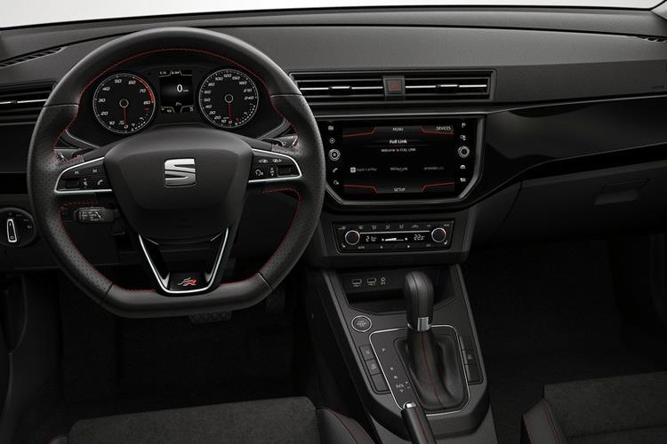 SEAT Ibiza Hatch 5Dr 1.0 TSI 95PS SE 5Dr Manual [Start Stop] inside view