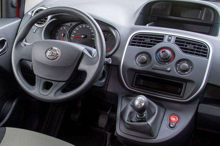 Nissan NV250 L1 1.5 dCi FWD 80PS Acenta Van Manual [Start Stop] inside view