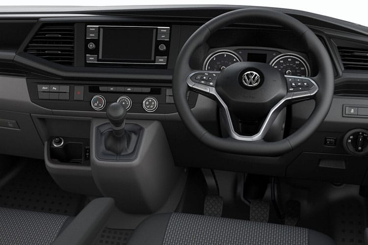 Volkswagen Transporter T26SWB 2.0 TDI FWD 90PS Startline Van Manual [Start Stop] inside view